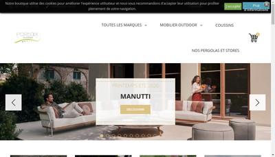 Site internet de Portaix Loisirs