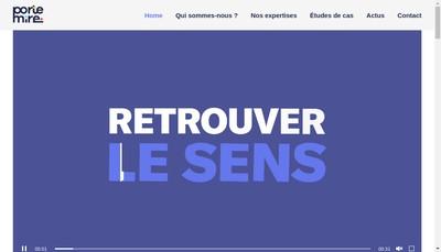 Site internet de Portemire