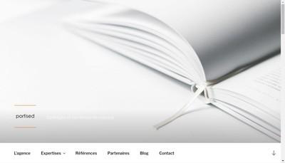 Site internet de Portised