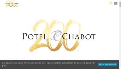 Site internet de Potel Chabot Res