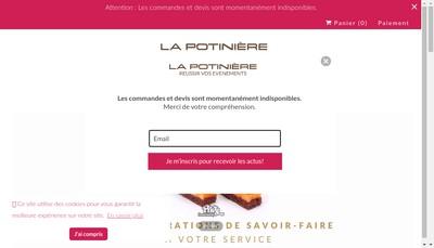 Site internet de La Potiniere