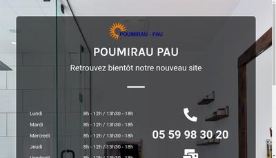 Site internet de Poumirau Pau