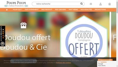 Site internet de Poupe Poupi