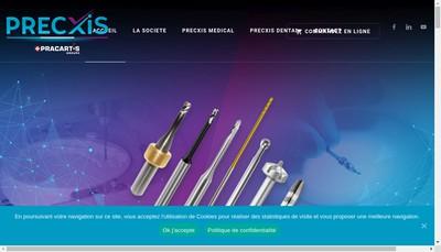 Site internet de Precxis