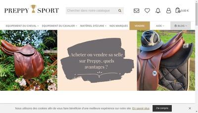 Site internet de Preppy Sport