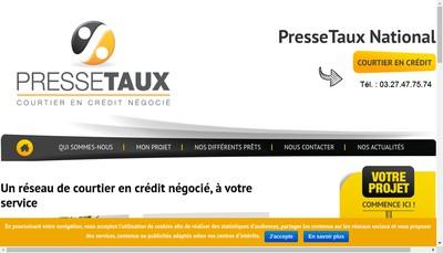 Site internet de Immocourtier