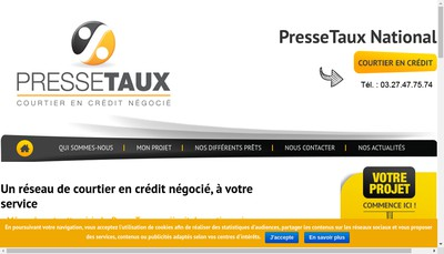 Site internet de Avenir Renovations