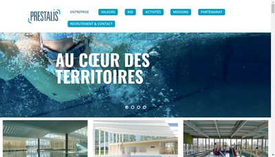 Site internet de Prestalis