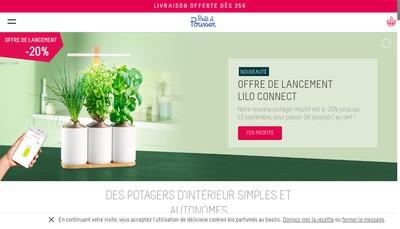 Site internet de Pret a Pousser
