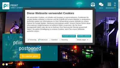 Site internet de Priint France