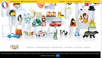 Site internet de SA Prime