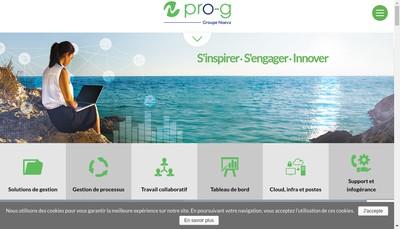 Site internet de Pro-G