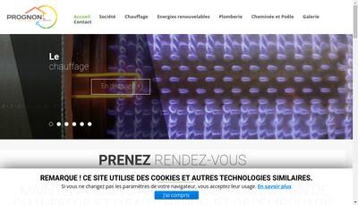 Site internet de Prognon SAS