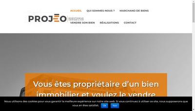 Site internet de Projeo