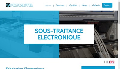 Site internet de Promistel Industries