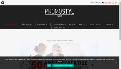 Site internet de Promostyl