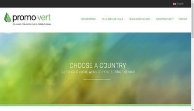Site internet de Promo Vert SA