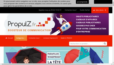 Site internet de Vosobjets2Com Fr - Vostextiles2Com Fr