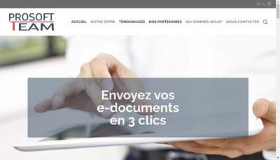 Site internet de Prosoftteam