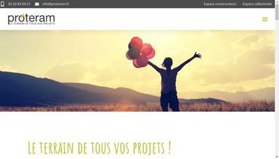 Site internet de Proteram