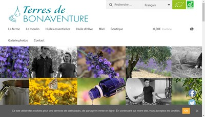 Site internet de Bonaventure