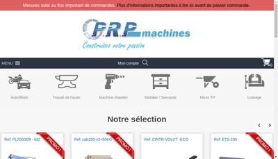Site internet de Prp Machines