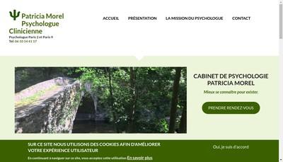 Site internet de Patricia Morel