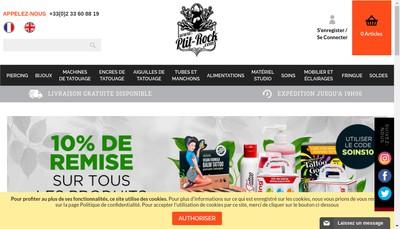 Site internet de P'Tit Rock