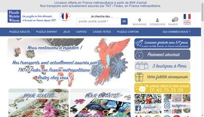 Site internet de Puzzle Michele Wilson - Pmw Conseils