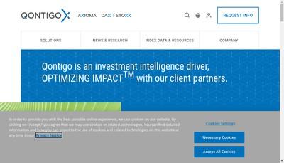 Site internet de Axioma (Fr)
