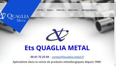 Site internet de Quaglia Diffusion
