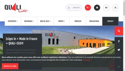 Site internet de Quali-Cite
