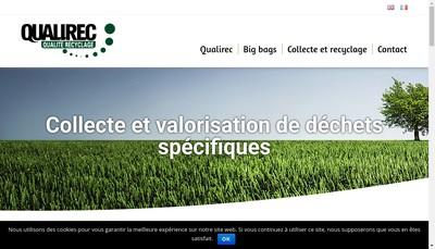 Site internet de Qualirec 38