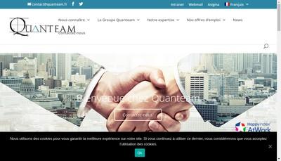 Site internet de Quanteam