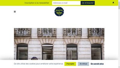 Site internet de Quatre-Quarts