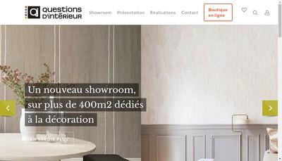 Site internet de Questions d'Interieur