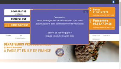 Site internet de Qui S'Y Frotte S'Y Pique