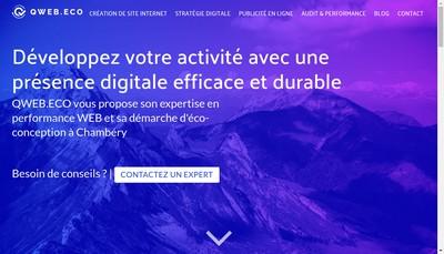 Site internet de QWEB.ECO
