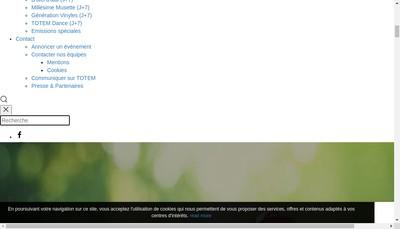 Site internet de Totem
