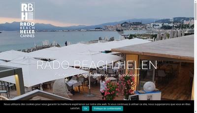 Site internet de Rado Beach Helen