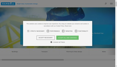 Site internet de Ramboll France