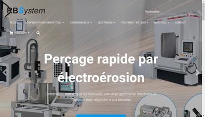 Site internet de Rbsystem