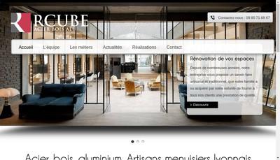 Site internet de Rcube