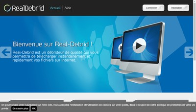 Site internet de Real-Debrid