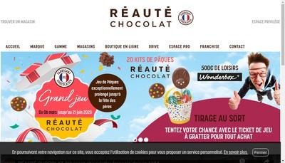 Site internet de Chocolats Roland Reaute