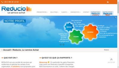 Site internet de Reducio