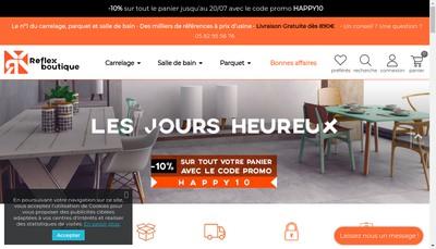 Site internet de Reflex Home