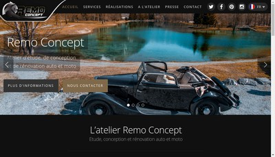 Site internet de Remo Concept