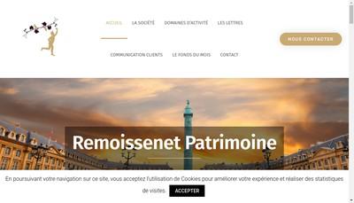 Site internet de Remoissenet Immobilier