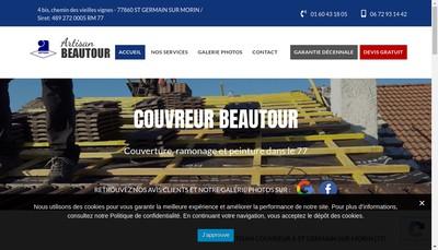 Site internet de Emile Beautour